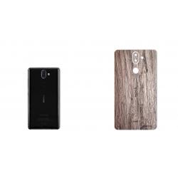برچسب تزئینی ماهوت مدل Walnut Texture مناسب برای گوشی  Nokia 8Sirocco (چند رنگ)
