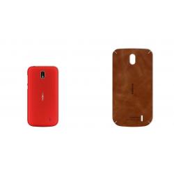 برچسب تزئینی ماهوت مدل Buffalo Leather مناسب برای گوشی Nokia 1 (چند رنگ)