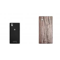 برچسب تزئینی ماهوت مدل Walnut Texture مناسب برای گوشی  Huawei Ascend P2 (چند رنگ)