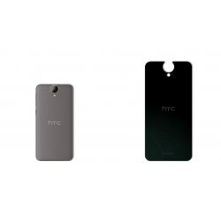 برچسب تزئینی ماهوت مدل Black-suede Special مناسب برای گوشی  HTC One E9 (بی رنگ)