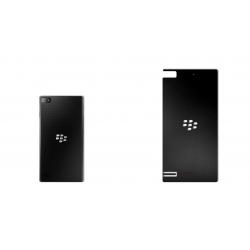 برچسب تزئینی ماهوت مدل Black-color-shades Special مناسب برای گوشی  BlackBerry Z3 (نقرهای مات)