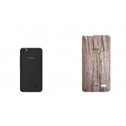 برچسب تزئینی ماهوت مدل Walnut Texture مناسب برای گوشی  Huawei Honor 4c (چند رنگ)