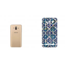 برچسب تزئینی ماهوت مدل Traditional-tile Design مناسب برای گوشی  Samsung J7 Duo (چند رنگ)
