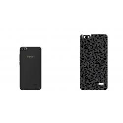 برچسب تزئینی ماهوت مدل Silicon Texture مناسب برای گوشی  Huawei Honor 4c (مشکی)