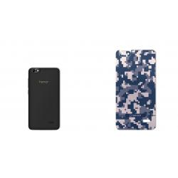 برچسب تزئینی ماهوت مدل Army-pixel Design مناسب برای گوشی Huawei Honor 4c (خاکستری)