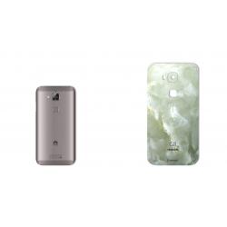 برچسب تزئینی ماهوت مدل Marble-light Special مناسب برای گوشی  Huawei Ascend G8 (کرم)
