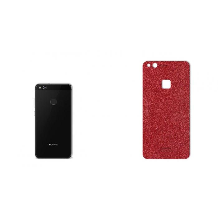 برچسب تزئینی ماهوت مدلNatural Leather مناسب برای گوشی  Huawei P10 Lite