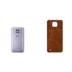 برچسب تزئینی ماهوت مدل Buffalo Leather مناسب برای گوشی LG X Cam (بی رنگ)