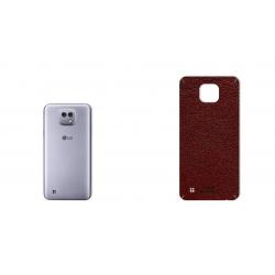 برچسب تزئینی ماهوت مدلNatural Leather مناسب برای گوشی  LG X Cam (سرمه ای)