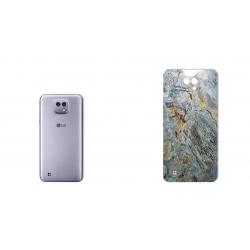 برچسب تزئینی ماهوت مدل Marble-vein-cut Special مناسب برای گوشی  LG X Cam (سبز)