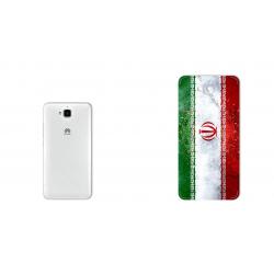 برچسب تزئینی ماهوت مدل IRAN-flag Design مناسب برای گوشی  Huawei Y6 Pro (بی رنگ)
