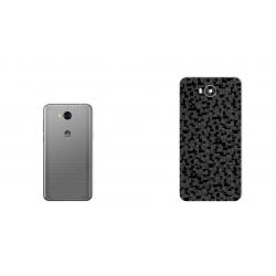 برچسب تزئینی ماهوت مدل Silicon Texture مناسب برای گوشی  Huawei Y5 2017 (نقره ای)