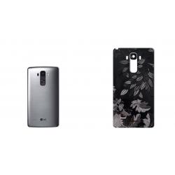 برچسب تزئینی ماهوت مدل Wild-flower Texture مناسب برای گوشی  LG G4 Stylus (زرشکی)