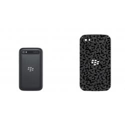 برچسب تزئینی ماهوت مدل Silicon Texture مناسب برای گوشی  BlackBerry Classic-Q20 (نقره ای)