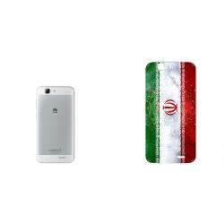 برچسب تزئینی ماهوت مدل IRAN-flag Design مناسب برای گوشی  Huawei Ascend G7 (چند رنگ)