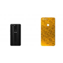 برچسب تزئینی ماهوت مدل  Gold-pixel Special مناسب برای گوشی Tecno Phantom 8