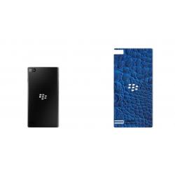 برچسب تزئینی ماهوت مدل Crocodile Leather مناسب برای گوشی  BlackBerry Z3 (مشکی)