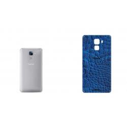 برچسب تزئینی ماهوت مدل Crocodile Leather مناسب برای گوشی  Huawei Honor 7 (آبی)