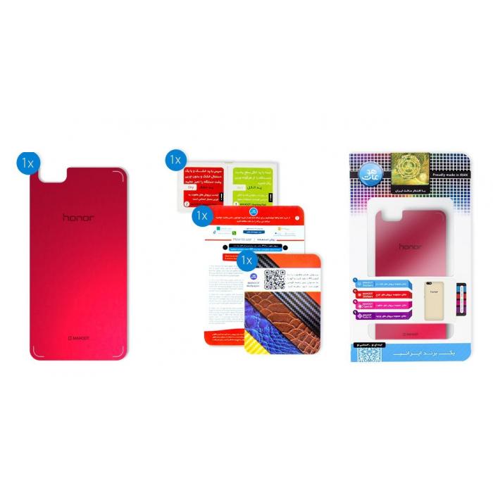 برچسب تزئینی ماهوت مدلColor Special مناسب برای گوشی  Huawei Honor 4X (قرمز)