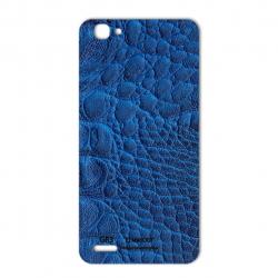 برچسب تزئینی ماهوت مدل Crocodile Leather مناسب برای گوشی  Huawei GR3 (مشکی)