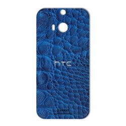 برچسب تزئینی ماهوت مدل Crocodile Leather مناسب برای گوشی  HTC M8 (مشکی)