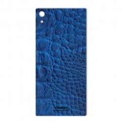 برچسب تزئینی ماهوت مدل Crocodile Leather مناسب برای گوشی  Sony Xperia XA1 Ultra (مشکی)