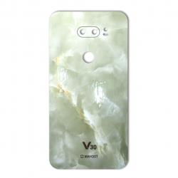 برچسب تزئینی ماهوت مدل Marble-light Special مناسب برای گوشی  LG V30