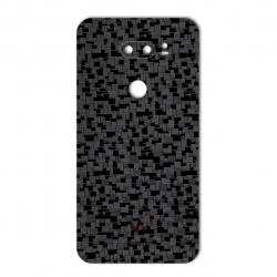 برچسب تزئینی ماهوت مدل Silicon Texture مناسب برای گوشی  LG V30