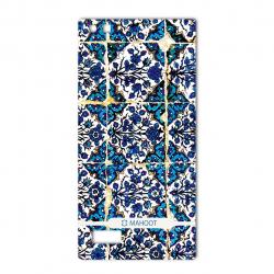 برچسب تزئینی ماهوت مدل Traditional-tile Design مناسب برای گوشی  BlackBerry Leap (بی رنگ)