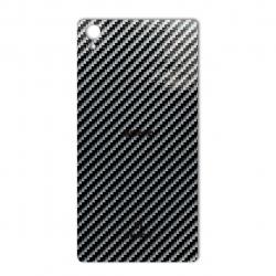برچسب تزئینی ماهوت مدل Shine-carbon Special مناسب برای گوشی  Sony Xperia Z1 (قهوه ای)