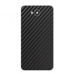 برچسب تزئینی ماهوت مدل Carbon-fiber Texture مناسب برای گوشی  Huawei Y5 2017 (سفید)