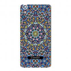 برچسب تزئینی ماهوت مدل Imam Reza shrine-tile Design مناسب برای گوشی  Huawei Y6 II (بی رنگ)