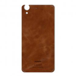 برچسب تزئینی ماهوت مدل Buffalo Leather مناسب برای گوشی Huawei Y6 II