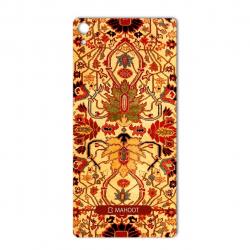 برچسب تزئینی ماهوت مدل Iran-carpet Design مناسب برای گوشی  Sony Xperia XA Ultra (زرد)