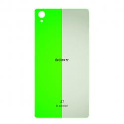 برچسب تزئینی ماهوت مدل Fluorescence Special مناسب برای گوشی  Sony Xperia Z1 (بی رنگ)