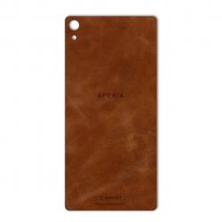 برچسب تزئینی ماهوت مدل Buffalo Leather مناسب برای گوشی Sony Xperia XA Ultra