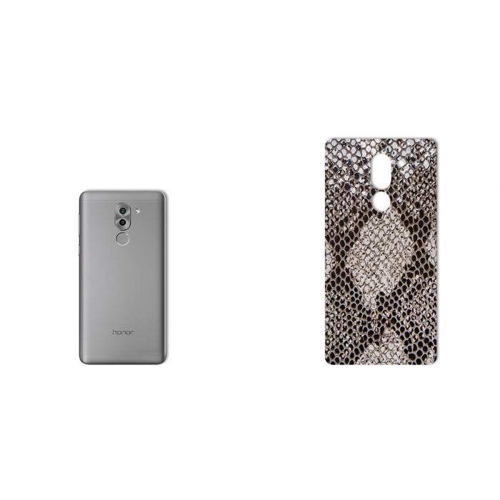 برچسب تزئینی ماهوت مدل Cobra-scale Leather مناسب برای گوشی  Huawei Honor 6X
