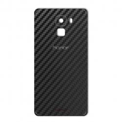 برچسب تزئینی ماهوت مدل Carbon-fiber Texture مناسب برای گوشی  Huawei Honor 7 (سفید)