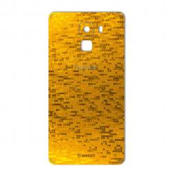برچسب تزئینی ماهوت مدل  Gold-pixel Special مناسب برای گوشی Huawei Honor 7 (چند رنگ)