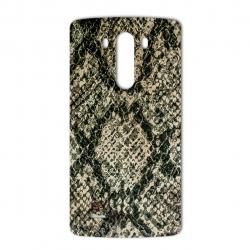 برچسب تزئینی ماهوت مدلJungle-python Texture مناسب برای گوشی  LG G3