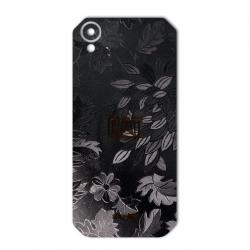 برچسب تزئینی ماهوت مدل Wild-flower Texture مناسب برای گوشی  CAT S41 (زرشکی)
