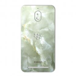 برچسب تزئینی ماهوت مدل Marble-light Special مناسب برای گوشی  BlackBerry Aurora (سبز روشن)
