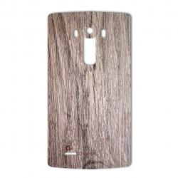 برچسب تزئینی ماهوت مدل Walnut Texture مناسب برای گوشی  LG G4 (بی رنگ)