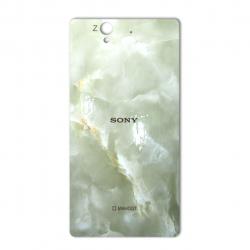 برچسب تزئینی ماهوت مدل Marble-light Special مناسب برای گوشی  Sony Xperia Z