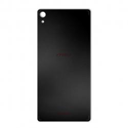 برچسب تزئینی ماهوت مدل Black-color-shades Special مناسب برای گوشی  Sony Xperia XA Ultra (نقرهای مات)