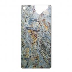 برچسب تزئینی ماهوت مدل Marble-vein-cut Special مناسب برای گوشی  Sony Xperia XA Ultra (نسکافه ای)