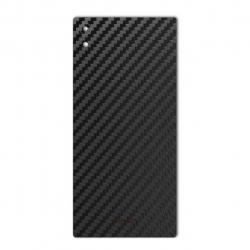 برچسب تزئینی ماهوت مدل Carbon-fiber Texture مناسب برای گوشی  Sony Xperia XA1 Ultra