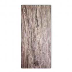 برچسب تزئینی ماهوت مدل Walnut Texture مناسب برای گوشی  Sony Xperia XA1 Ultra (بی رنگ)