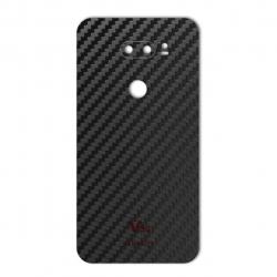 برچسب تزئینی ماهوت مدل Carbon-fiber Texture مناسب برای گوشی  LG V30 (مشکی)
