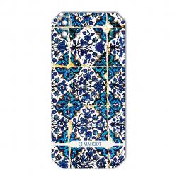 برچسب تزئینی ماهوت مدل Traditional-tile Design مناسب برای گوشی  CAT S41 (بی رنگ)